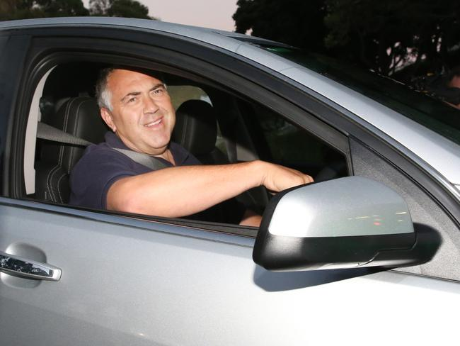 Is Joe Hockey looking for a new career as an Uber driver? Picture: Gary Ramage
