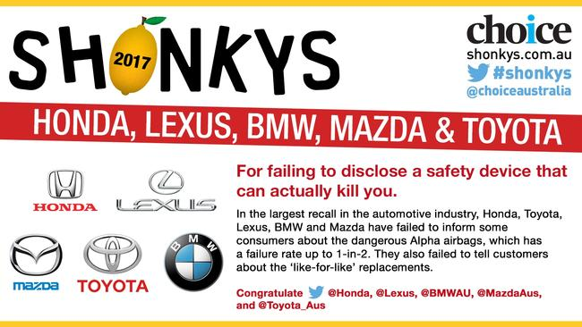 Car Companies Who Failed In Safety