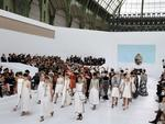 Models present creations for Chanel show as part of Paris Fashion Week - Haute Couture Fall/Winter 2014 in Paris, France. Picture: AFP