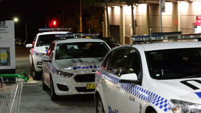 Westfield Hornsby is a crime scene following the fatal attack. Picture: Bill Hearne