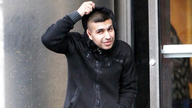 Sufyan Ziarab, 22, was one of the gang condemed for their contemptuous attitude. Picture: SWNS/Snapper Media