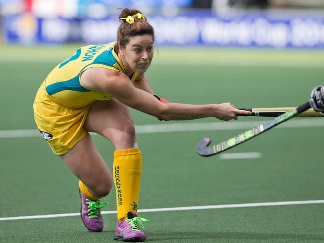 The Australian women's hockey team takes on Malaysia from 6pm.