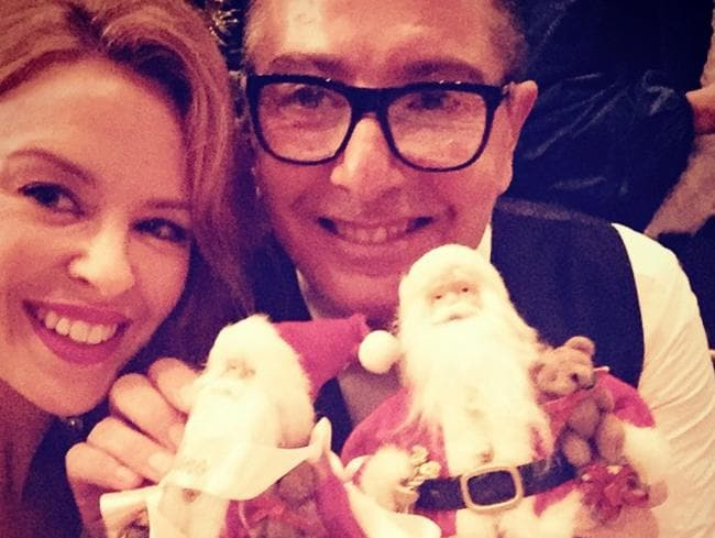 Kylie Minogue and Stefano Gabbana have had a longstanding friendship. Picture: Instagram