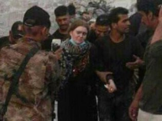 A girl believed to be Linda Wenzel has been captured in Mosul, Iraq.