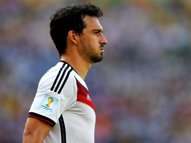 Mats Hummels scored the opening goal for Germany.