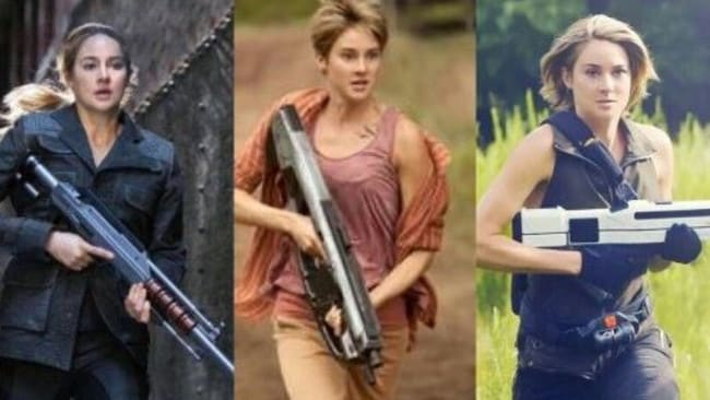 The evolution of Tris from nervous warrior to stone cold killer.