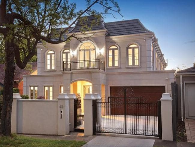 Melbourne Real Estate French Provincial Home sham