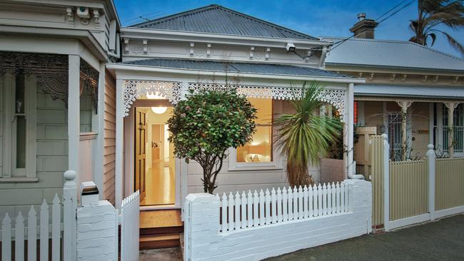 48 Spring Street East, Port Melbourne is for sale right now. The suburb of Port Melbourne recorded an average house price of $880,000 in 2012. In 2016 that had jumped to $1.4 million. Picture: Realestate.com.au