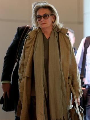 Jill Wran arrives at Sydney Airport / Picture: John John Grainger