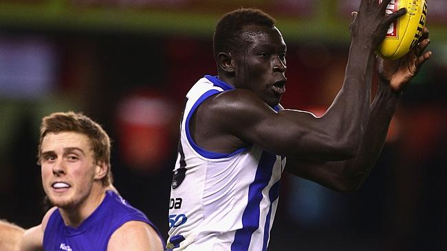 Majak Daw dominated against the Bulldogs.