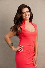 Actor Ada Nicodemou, host of Channel Seven (7) dating TV series 'Please Marry My Boy'. Pic Channel 7.