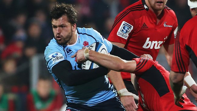 CHRISTCHURCH, NEW ZEALAND - MAY 31: Adam Ashley-Cooper of the Waratahs runs with the ball during the round 16 Super Rugby match between the Crusaders and the Waratahs at AMI Stadium on May 31, 2013 in Christchurch, New Zealand. (Photo by Joseph Johnson/Getty Images)