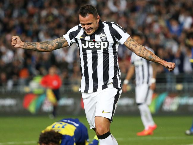 Simone Pepe grabs the winner for Juventus.