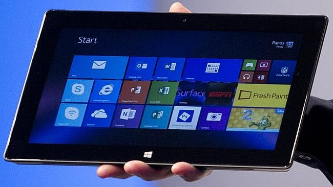 Analysts say Microsoft needs to find out why users upgrade their computer, what they're upgrading to, and find a way to integrate its Surface 2 across other products like Xbox and Bing. Picture: AP