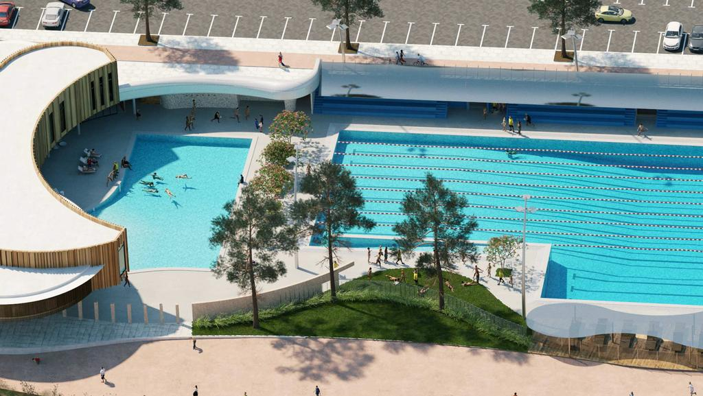 Plans for 26m scarborough pool set to be finalised perth now for Scarborough campsites with swimming pool