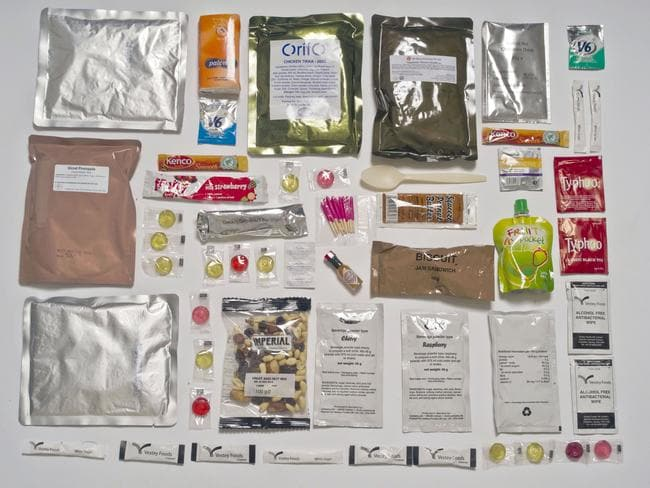 Inside the British pack. Picture: Sarah Lee / Eyevine