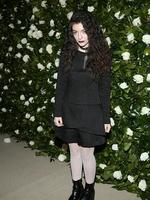 Lorde attends the Museum of Modern Art 2013 Film benefit: A Tribute To Tilda Swinton in November. Picture: Getty