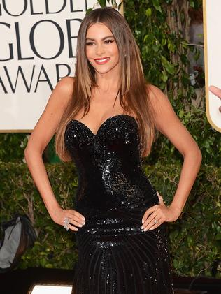 Vergara at the Golden Globes.