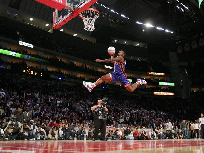NBA Dunk Contest, Dr J...