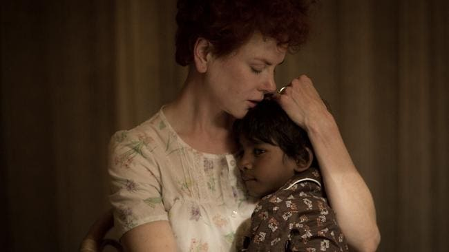 Nicole Kidman and Sunny Pawar appear in a scene from  <i>Lion.</i> Picture: WEINSTEIN COMPANY via AP