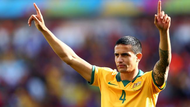 Tim Cahill won't be playing Spain after picking up a ban.