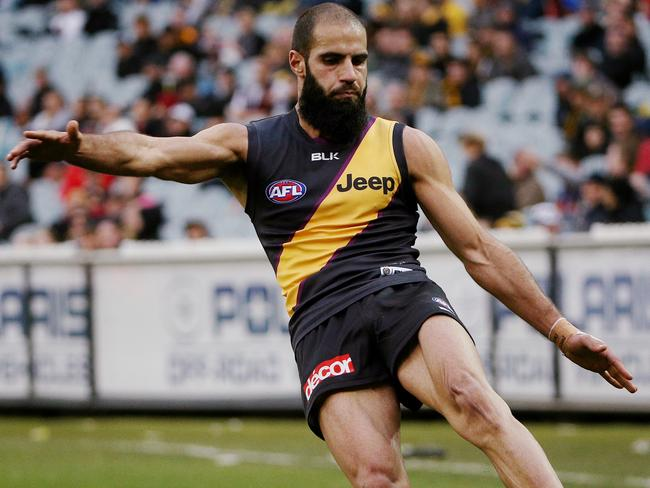 Bachar Houli was one of the key to Richmond's win over Port Adelaide. Picture: Colleen Petch.
