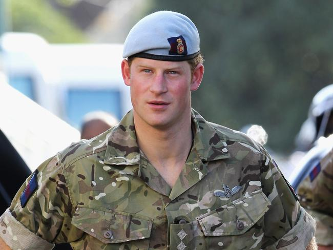 Harry served two tours of Afghanistan — but said his military career wasn't to blame for his mental health issues. Picture: Chris Jackson/Getty Images