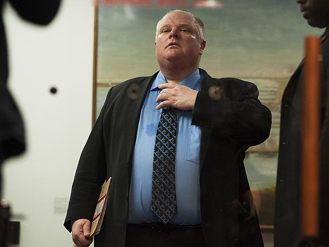 Toronto Mayor Rob Ford announced today that he will suspend his reelection campaign to enter rehab for substance abuse.