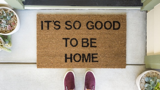 It's good to be home, if you can afford one! Photo: iStock
