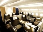 Lufthansa A380 first class seating / supplied