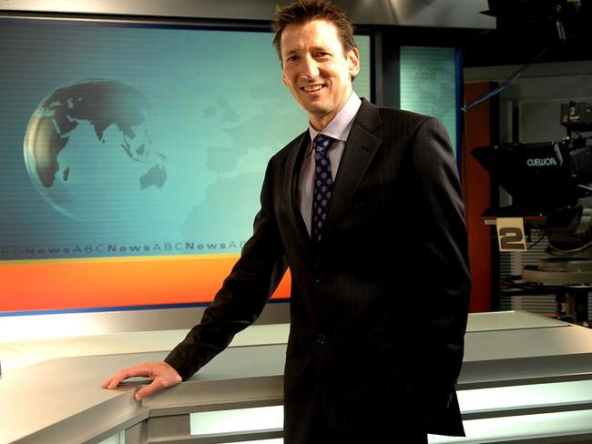 Picked on by a viewer ... ABC weatherman, Graham Creed.