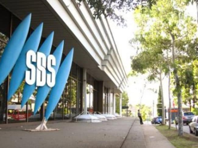 SBS television office in Artarmon, on Sydney's lower north shore.