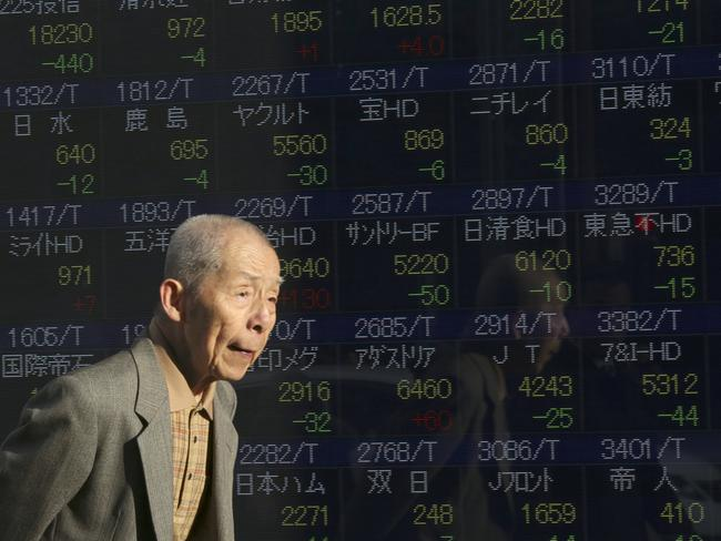 Global consequences ... US and European stocks have again lost ground this week on the back of negativity about the Chinese economy and falls in oil prices. Picture: AP/Eugene Hoshiko