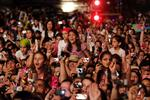 <p>Young fans react during the concert of American singer and actress Miley Cyrus at the Rock in Rio music festival Saturday, May 29 2010, in Lisbon. (AP Photo/Armando Franca)</p>