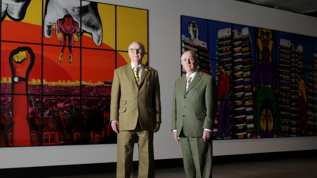 Tiny Home Designs: TasWeekend: Exhibitionists Gilbert & George Are Two Of A