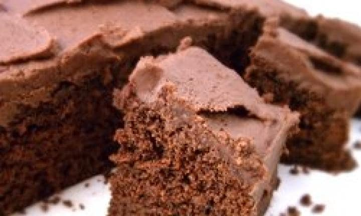 "This is the best chocolate cake recipe ever. Show Dad you care and make him his very own for Father's Day. Don't scrimp on the icing, it's the best part.  <a href=""http://www.kidspot.com.au/kitchen/articles/video/how-to-make-an-everyday-chocolate-cake"">Find the Best chocolate cake recipe ever here.</a>"