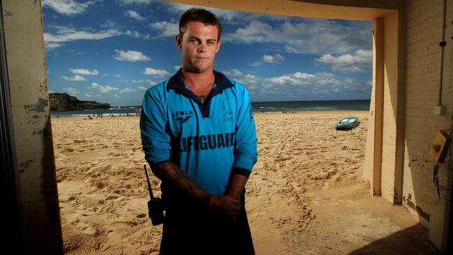Second chance ... Jesse Polock had a second chance at life and became a lifeguard, after a serious brush with the law saw him face jail time.