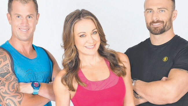 The Biggest Loser: Challeng Australia ... (From left 0 Shannan Ponton, Michelle Bridges and Steve 'Commando' Willis.
