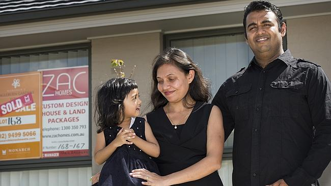 Santosh Kumar says a back yard and plenty of space make a lengthy commute worthwhile.