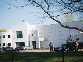 Prince's Paisley Park compound in Minneapolis, Minnesota. Photo: Getty