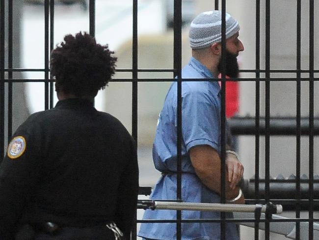 Adnan Syed, of Serial infamy, is trying to have his case for murder heard again. Picture: AP