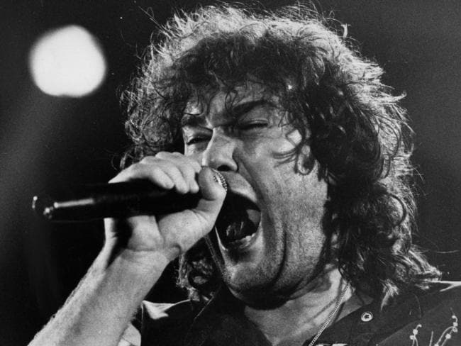 Jimmy Barnes in the glory days of Cold Chisel. Picture: Supplied