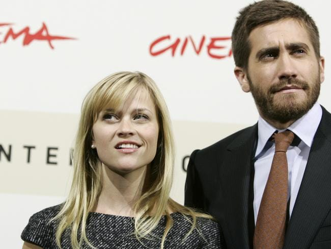 Former flame ... Reese Witherspoon and Jake Gyllenhaal dated for two years.