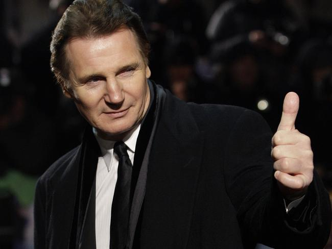 Moving on ... Irish actor Liam Neeson is dating someone seven years after his wife died.