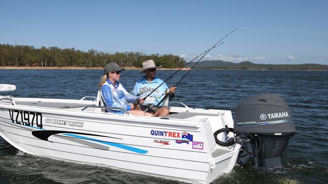 Couples to fork out more for fishing at popular fnq lake for Take me fishing lake locator