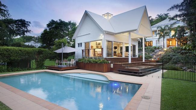 Brisbane Real Estate Big Family Home Pool House