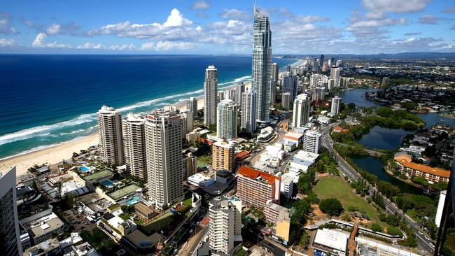 The Gold Coast council area saw the second highest sales in the country at %10.7b. Picture: David Clark