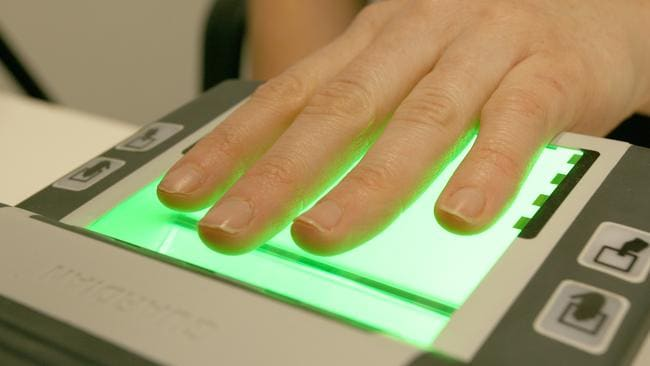 A biometric scanner / Picture: Supplied