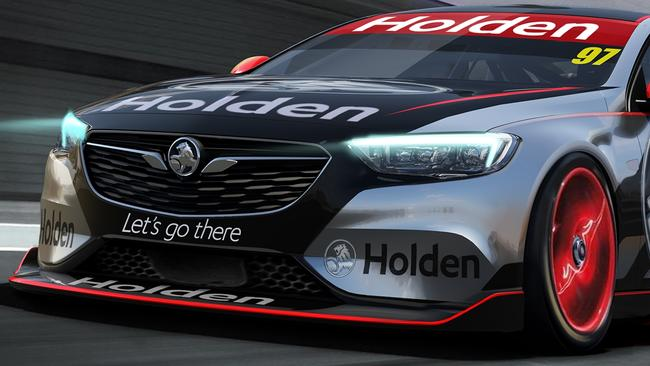Supercars Holden Commodore Revealed Photos
