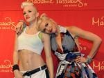 Gwen Stefani unveils her $300,000 figure at Madame Tussauds on the Las Vegas Strip. Picture: AP Photo/Las Vegas News Bureau, Darrin Bush